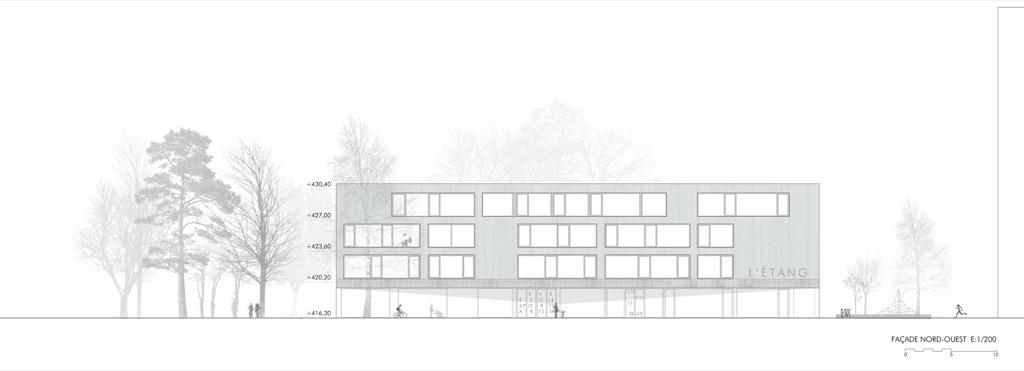 Etang Vernier - Pez Arquitectos