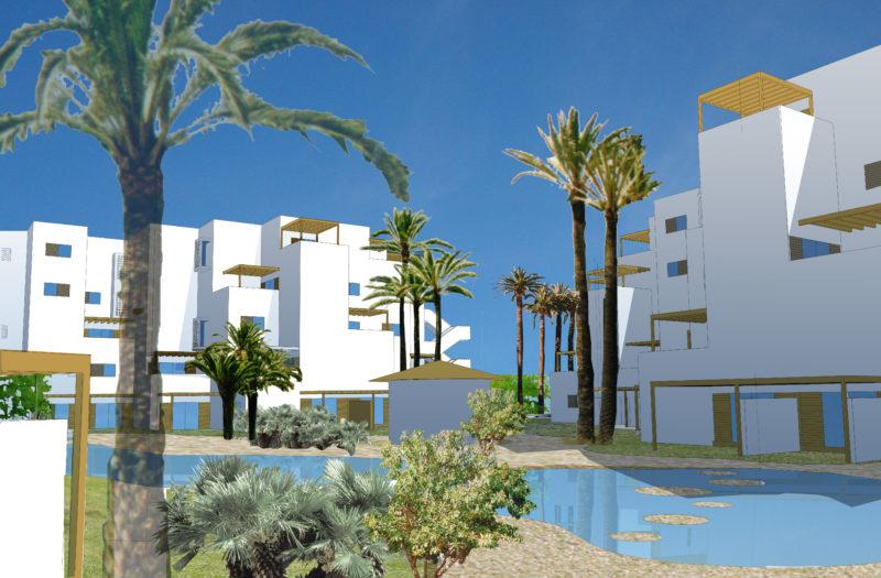230 viviendas en las parcelas Z-2-2 y Z-2-3 en la Ensenada de San Miguel. El Ejido, Almería
