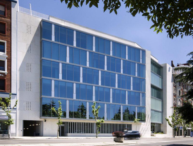 Edificio para la sede de la Seguridad Social en León